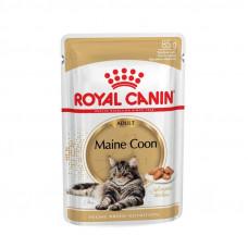 Консервы для мейн кун Роял Канин – Royal Canin Maine Coon (кусочки в соусе)