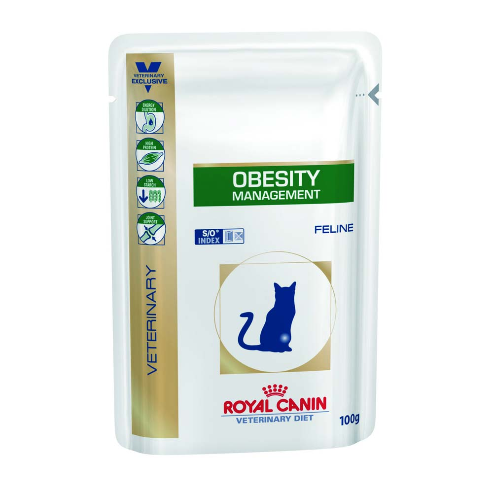Консервы для кошек Роял Канин (Royal Canin) Obesity при избыточном весе