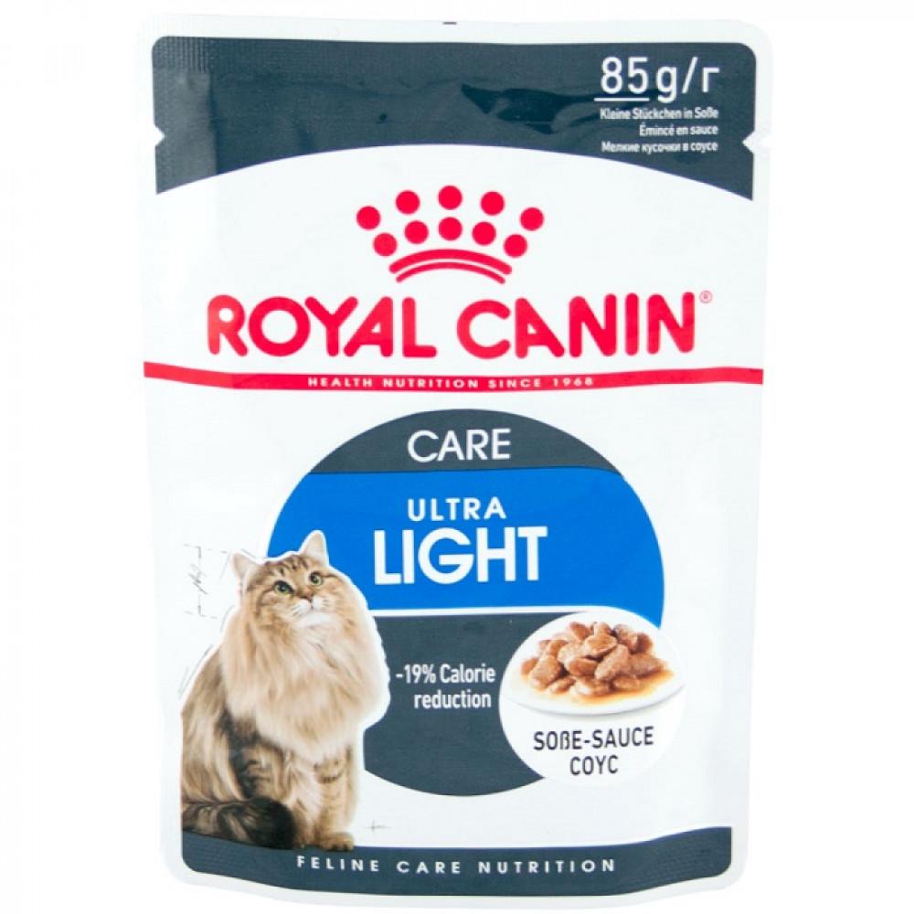 Консервы Роял Канин (Royal Canin) Ultra Light для кошек склонных к полноте