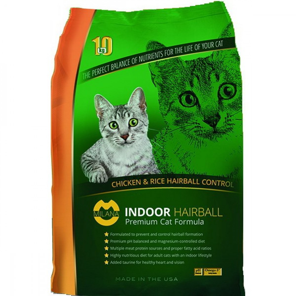 Milana (Милана) Indoor hairball premium cat formula18 кг