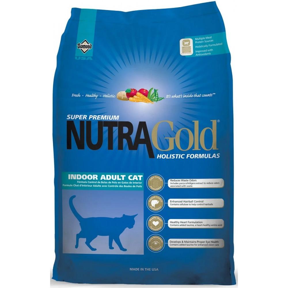 Корм для домашних кошек Нутра Голд Холистик Nutra Gold Indoor 7.5 кг