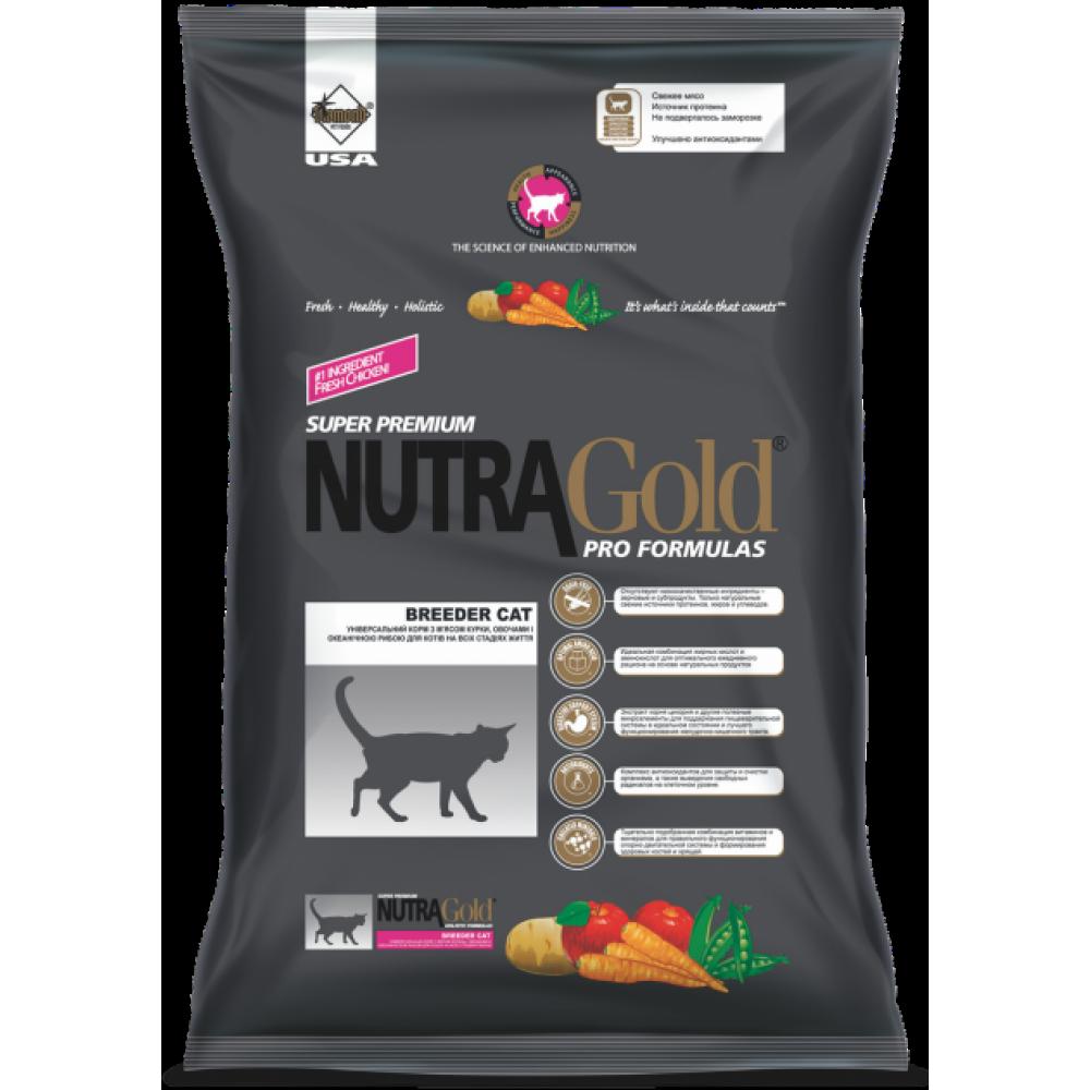 Nutra Gold (Нутра Голд) Breeder Корм для кошек всех возрастов и пород