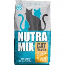 Nutra Mix OPTIMAL корм для кошек с курицей и морепродуктами