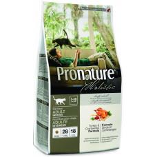 Pronature Holistic (Пронатюр Холистик) Корм для котов с индейкой и клюквой 5.44 кг