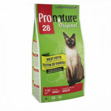 Pronature 28 Original (Пронатюр) Корм для кошек с мясом 2.72 кг