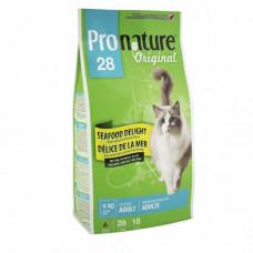 Pronature 28 Original (Пронатюр) для кошек с морепродуктами 5.44 кг