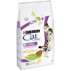 Purina Cat Chow Hairball Control Сухой корм для кошек для вывода шерсти
