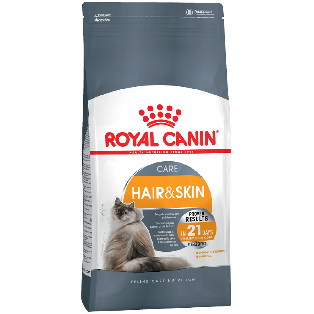 Корм для кошек Royal Canin (Роял Канин) Hair&Skin