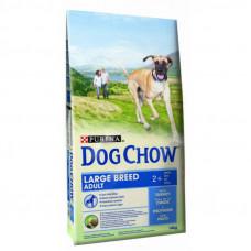 Dog Chow (Дог Чау) Корм для собак крупных пород с индейкой и рисом 14 кг