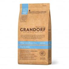 Grandorf White Fish & Rice Adult All Breed Сухой корм для взрослых собак Белая рыба и рис 12 кг