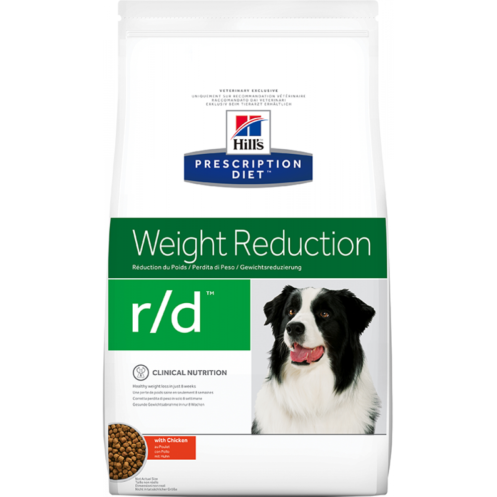 Hill's Prescription Diet Canine r/d лечебный для собак при ожирении и диабете