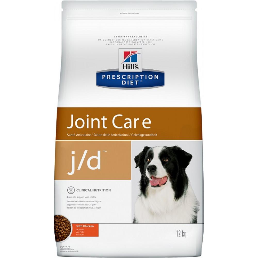 Hill's Prescription Diet Canine j/d лечебный для собак для суставов