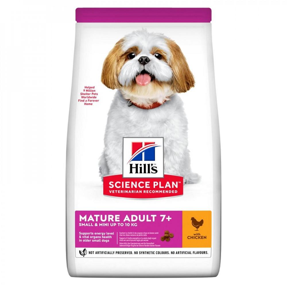 Корм Hill's Mature Adult 7+ Small and Mini для пожилых собак мелких и миниатюрных пород