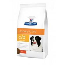 Hill's Prescription Diet Canine c/d для собак при мочекаменной болезни