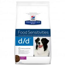 Hill's Prescription Diet Canine d/d с уткой и рисом