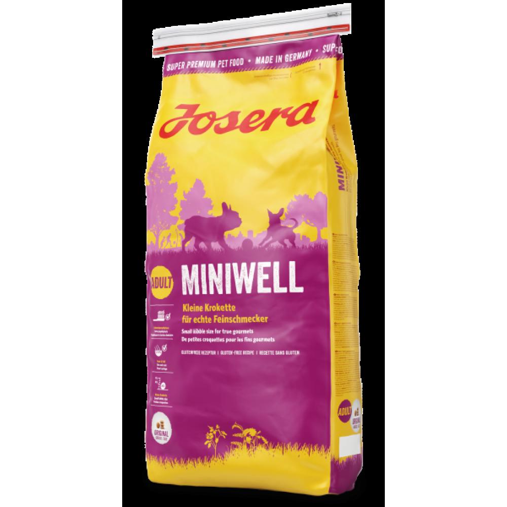 Josera Miniwell корм для собак мелких и миниатюрных пород