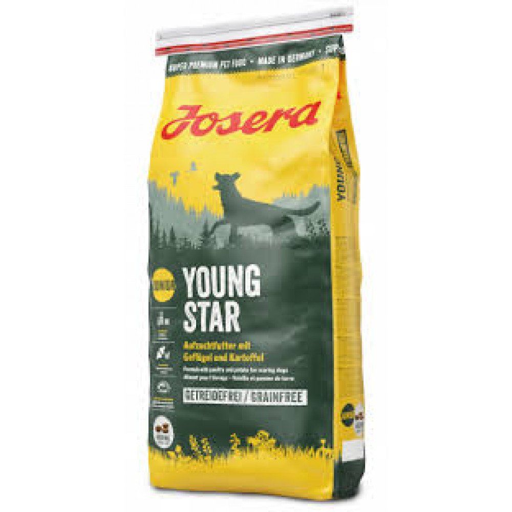 Josera Young Star корм для щенков с птицей и картошкой