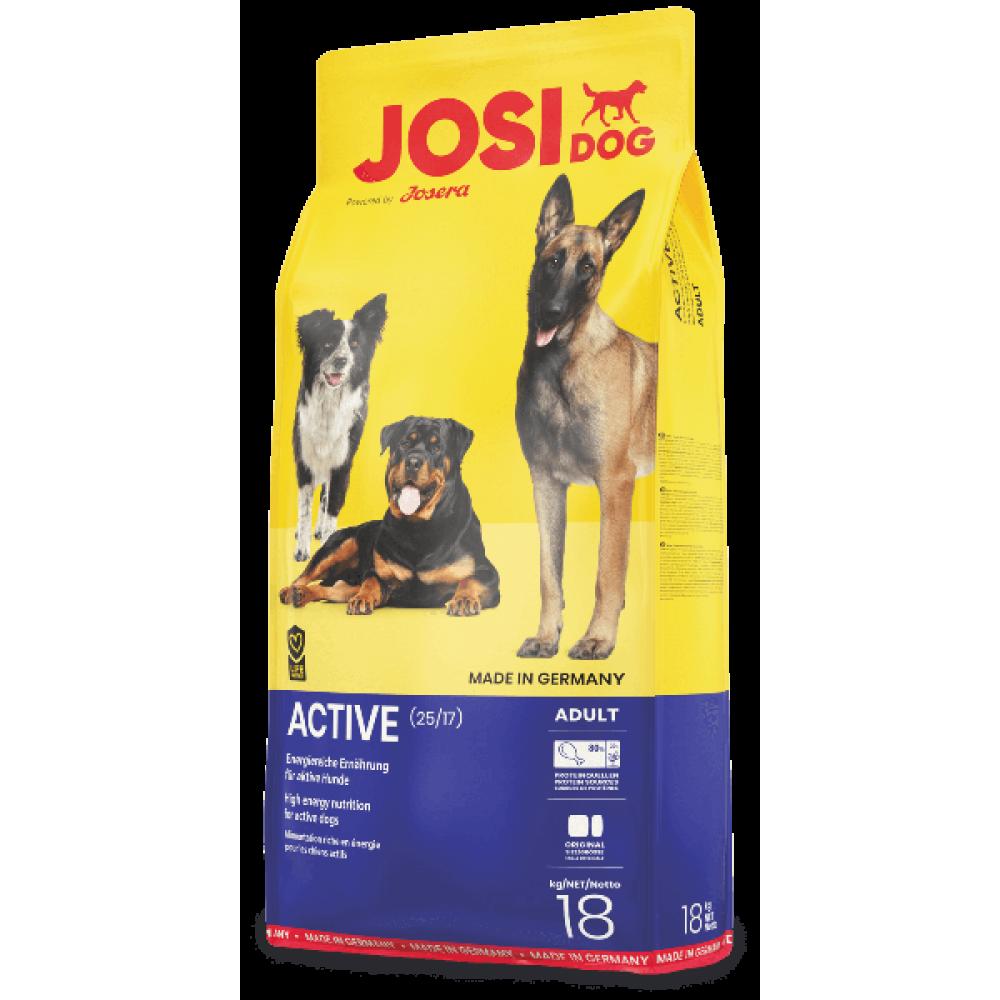 Josi Dog Active 25/17 корм для взрослых активных собак 18 кг