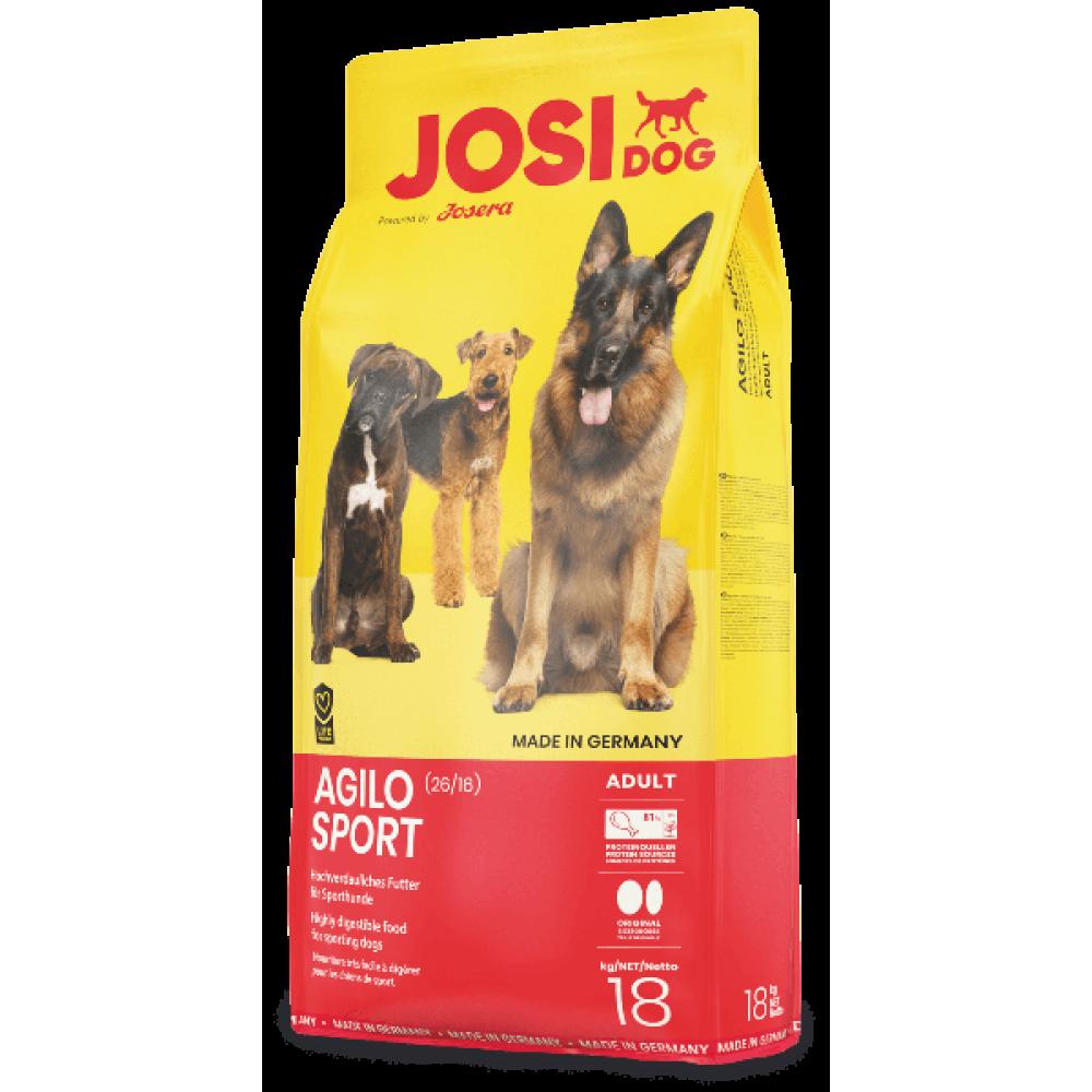 Josi Dog Agilio Sport корм для взрослых активных собак 18 кг