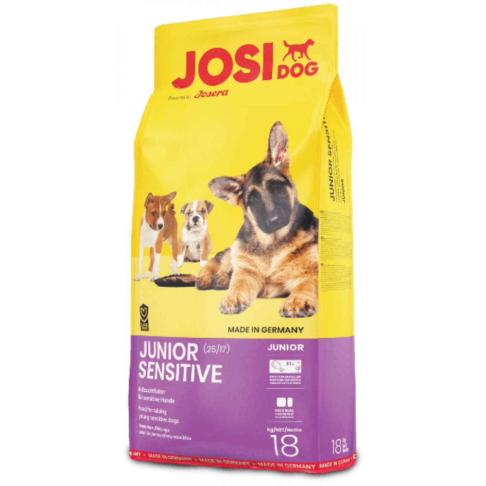 Josi Junior Sensitive корм для щенков гипоаллергенный 18 кг