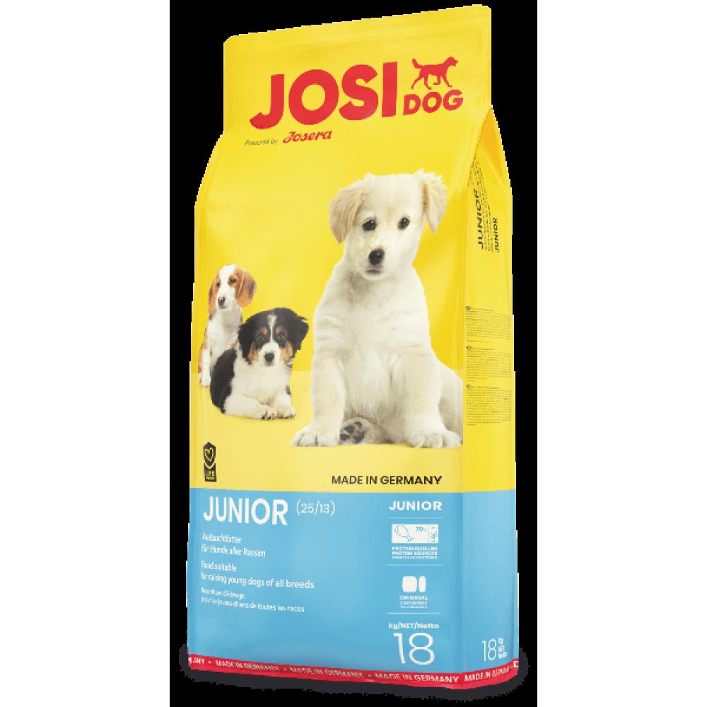 JosiDog Junior 25/13 корм для щенков и молодых собак 18 кг
