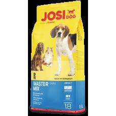 Josi Master Mix корм для собак микс птицы с буряком 18 кг