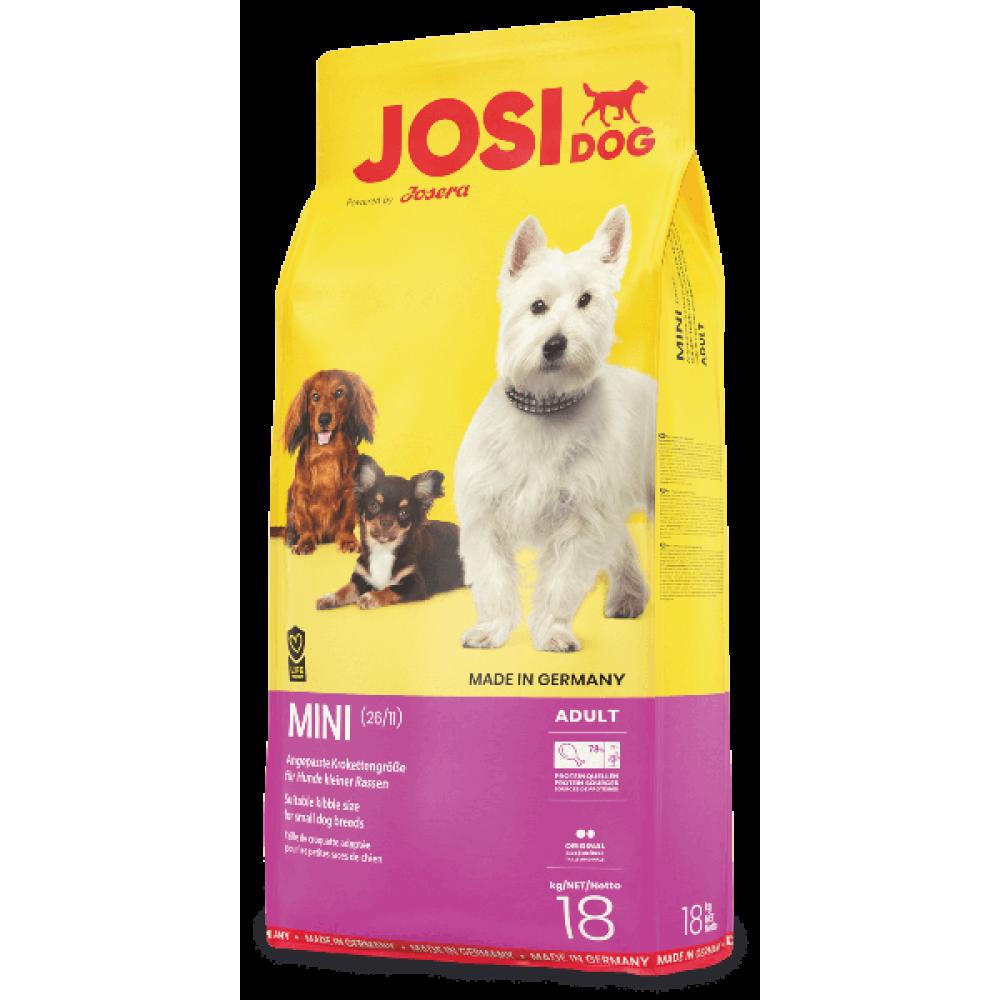 Josi Dog Mini корм для собак мелких пород 18 кг