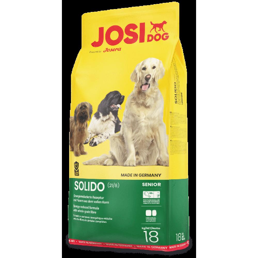 Josi Dog Solido корм для собак малоактивных 18 кг