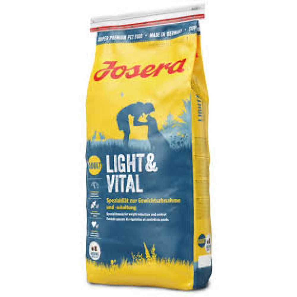 Josera Light&Vital корм для собак склонных к полноте с птицей