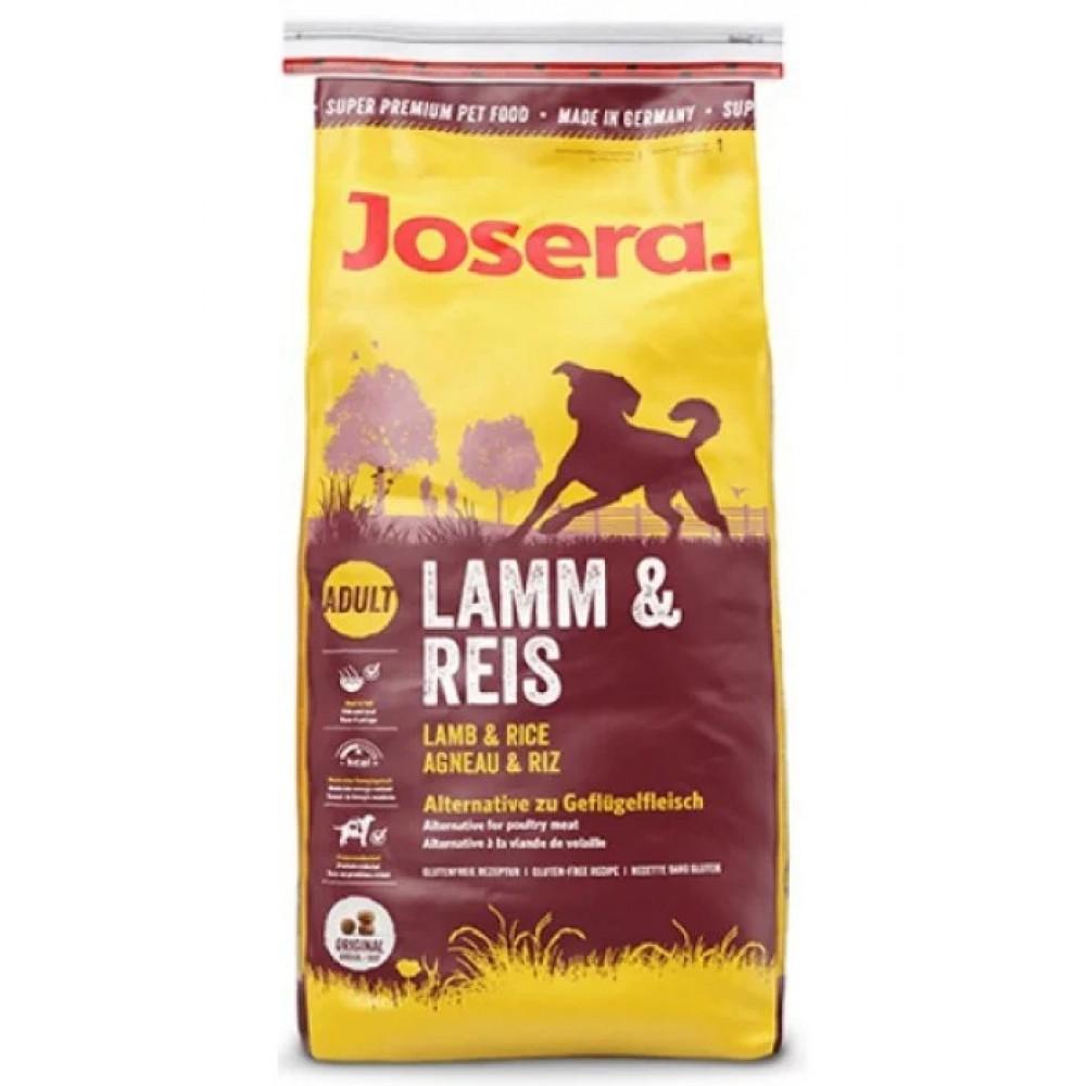 Josera корм для собак с ягненком и рисом