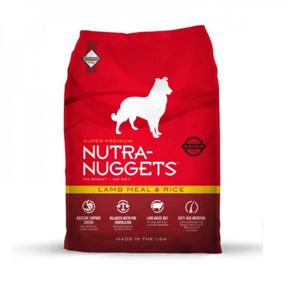 Nutra Nuggets Lamb & Rice Корм для собак гипоаллергенный