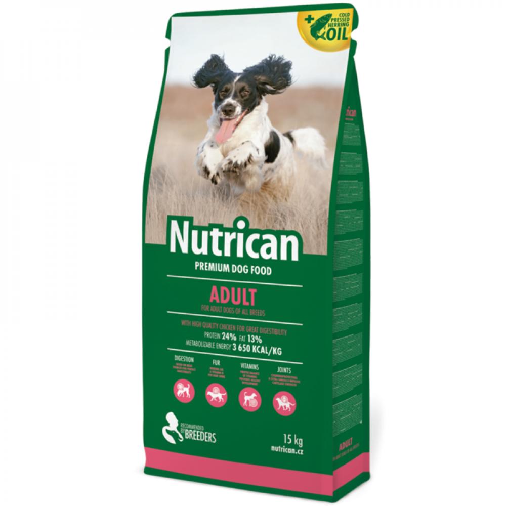 Nutrican Adult корм для взрослых собак 15 кг