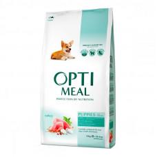 Optimeal Puppies All Breeds корм для щенков Оптимил с индейкой  12 кг