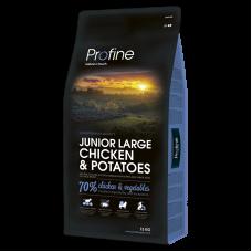 Profine Junior Large Chicken & Potatoes для молодых собак крупных пород с курицей и картофелем