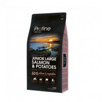 Profine Junior Large Salmon & Potatoes сухой корм корм для щенков крупных пород лосось и картофель