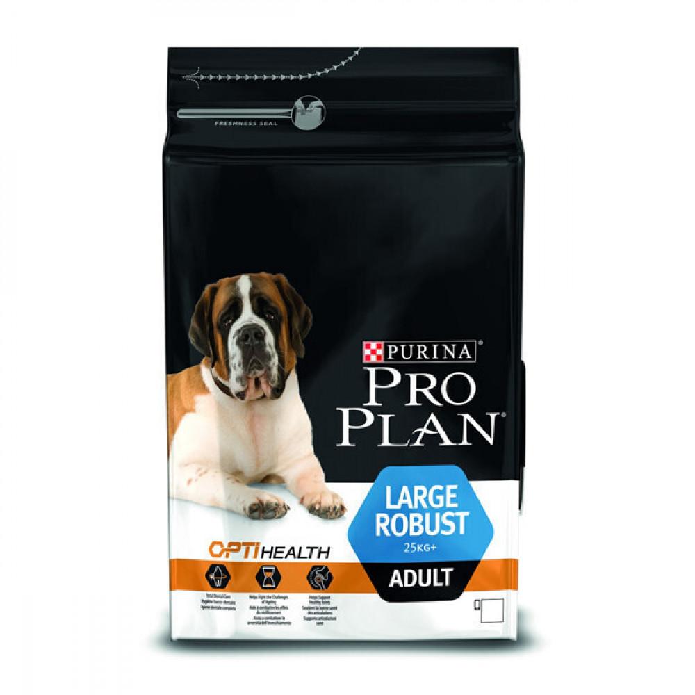 Purina Pro Plan ADULT LARGE Robust Optihealth Корм для взрослых собак крупных пород 14 кг