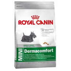 Корм Royal Canin Mini Dermacomfort для собак мелких пород 3кг