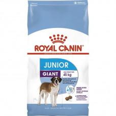 Royal Canin Giant Junior корм для щенков гигантских пород с 8 мес с птицей 15 кг