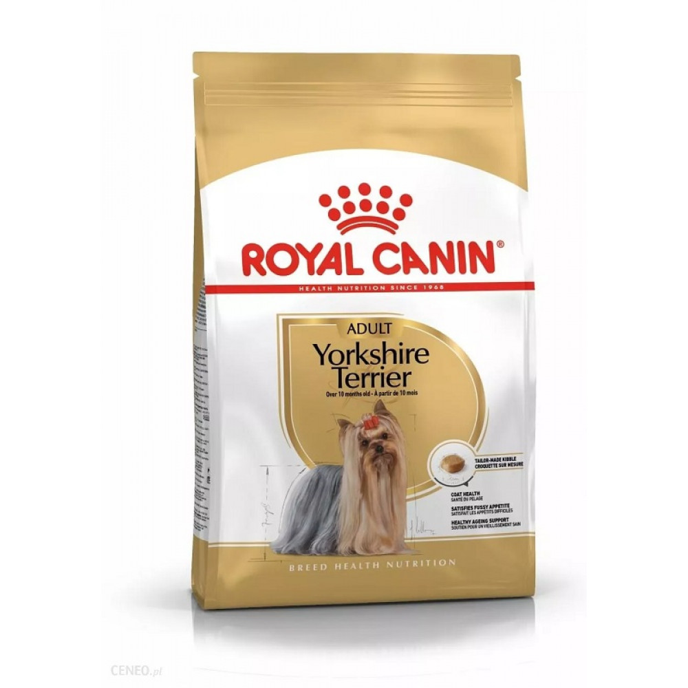 Royal Canin Yorkshire Adult корм для йорков c 10 мес