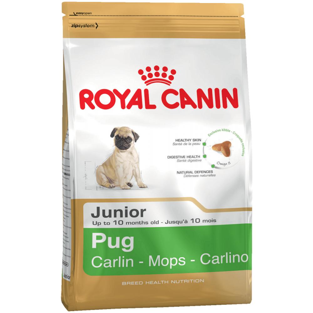 Royal Canin Pug puppy корм для щенков мопса 1.5 кг
