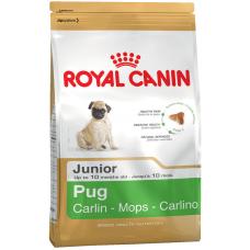 Royal Canin Pug Junior корм для щенков мопса 1.5 кг