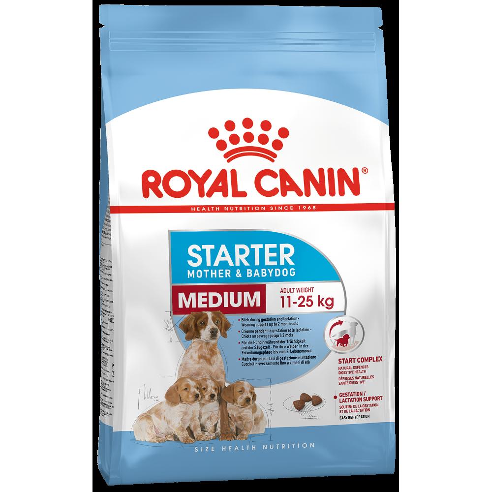 Royal Canin Starter корм для щенков средних пород с 3 до 8 недель 12 кг