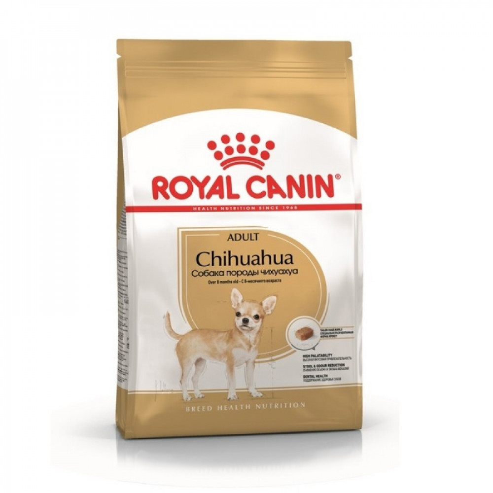 Royal Canin Chihuahua корм для чихуахуа с 8 мес 1.5 кг