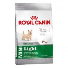 Корм Royal Canin Mini Light для мелких пород собак низкокалорийный 1 кг