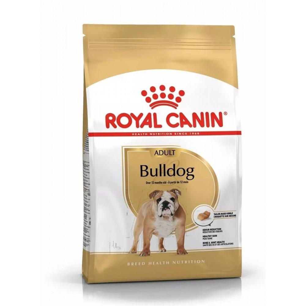Royal Canin Bulldog Корм для бульдога с 12 мес