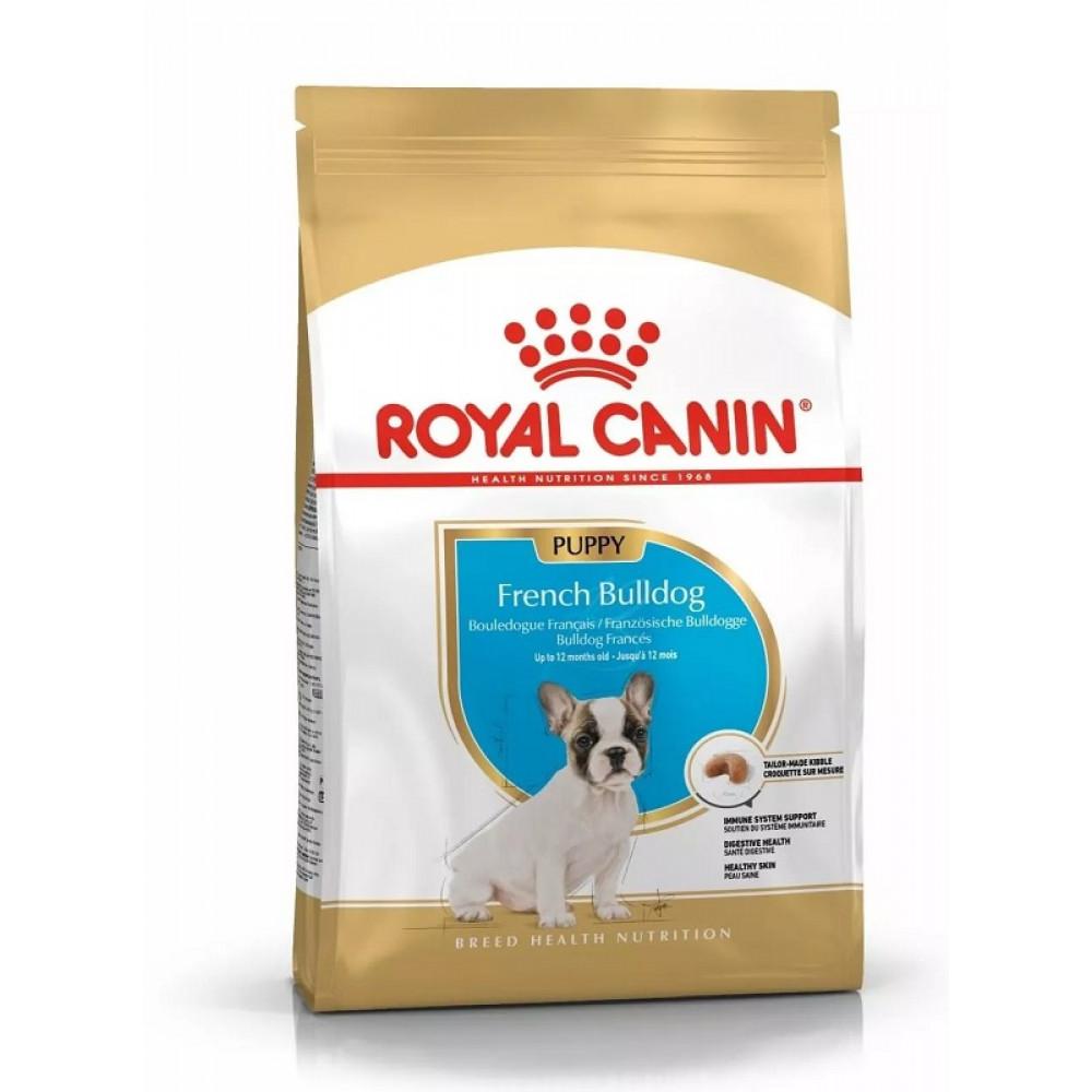 Royal Canin French Bulldog Puppy корм для щенков французского бульдога до 15 мес 1 кг