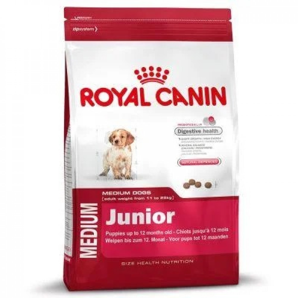 Royal Canin корм для щенков средних пород с птицей