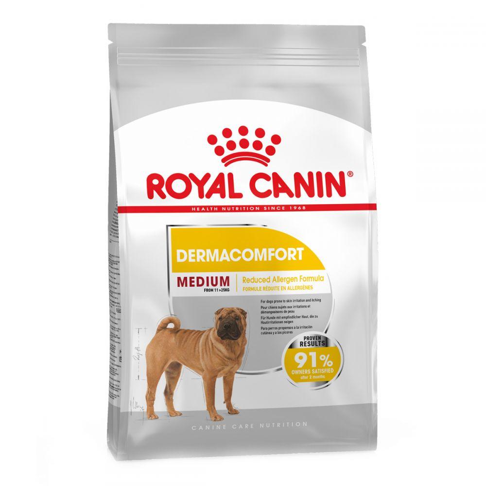 Royal Canin Medium Dermacomfort корм для собак средних пород для чувствительной кожи