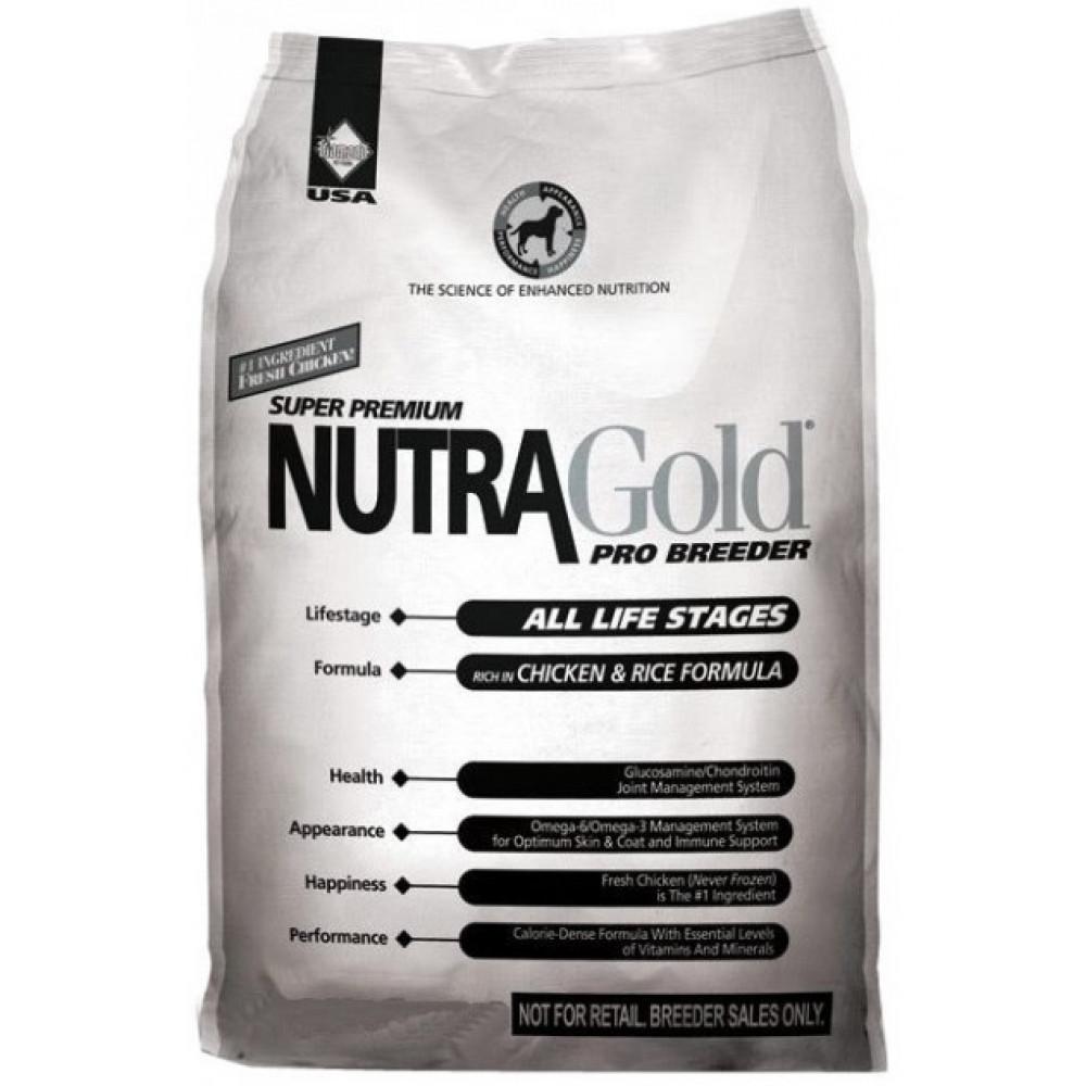 Nutra Gold Pro Breeder корм для собак всех возрастов