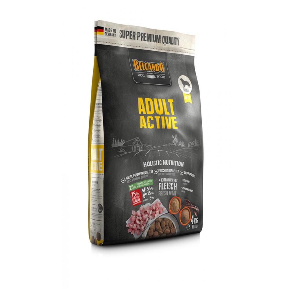 Belcando Adult Active сухой корм холистик класса для активных собак средних и крупных пород